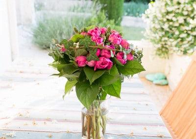 Bouquet de fleur de la maisons des prés